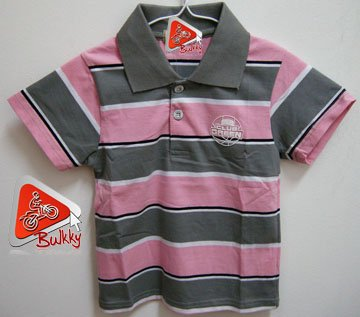 Kid Polo Style Shirt 100% Brand New & Soft Cotton US Size 2T (D)