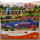 HOMETOWN COLLECTION MEGA PUZZLE Heronim 1000 Piece Art Swan Boats in Boston New