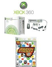 """Xbox 360 """"Premium Gold Pack"""" Video Game System with 40 of the Coolest Games !!!"""