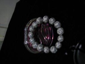 Gift idea for casual use~~ stylish grey bracelet