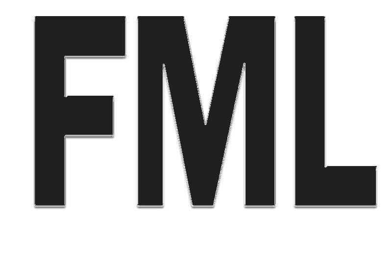 FML Tee! WHITE Tee Adult MEDIUM
