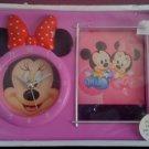 Minnie Mouse Clock + Photo Frame - 04