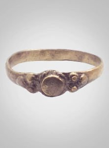 Authentic  Antique Victorian  Womans Wedding Ring Size 9 1/2 (19.9mm)(brr513)