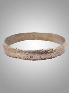 Ancient Viking Wedding Ring C.866-1067A.D. Size 10 1/4  (19.7mm)(Brr775)