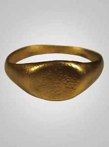 Authentic  Ancient Viking Mans Ring C.866-1067A.D. Size 10 3/4  (20.7mm)(Brr536)