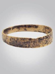 Ancient Viking  Ring X design C.866-1067A.D. Size 10 1/2  (21mm)(Brr377)