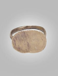 1/2 Price Sale-Authentic Ancient Byzantine Mens Ring C.600-900A.D. Size 8 (18.7m