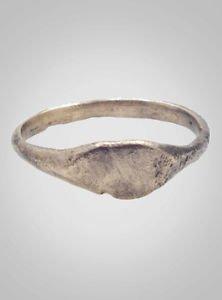 Ancient Roman Womans Ring C.100-300A.D.  Size 8 1/2  (18.1mm) (brr420)