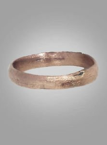 Ancient Viking Ring C.866-1067 A.D. Size 9 1/2 (19.8mm)(Brr197)