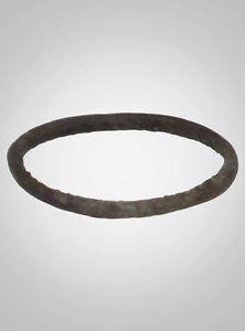 Ancient Viking  Natural Bronze Woman;s  Wedding Band  C.866-1067A.D. Size 7 1/4