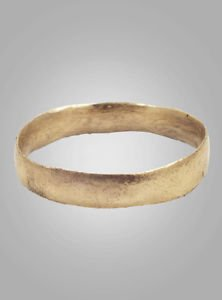 sweden wedding jewelry ring  C.866-1067 A.D. Size 10   (19.2mm)(Brr434)