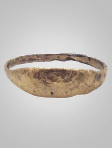 Ancient Viking    Ring  C.866-1067A.D. Size 9 1/4   (19.5mm)(Brr456)