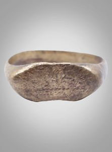 Ancient Viking Mans Ring  Jewelry C.866-1067A.D. Size 8 1/4  (17.8mm)(Brr975)