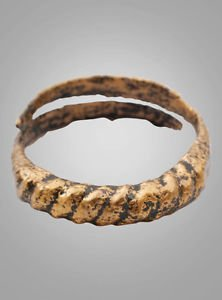 Historical  Ancient Viking, Mans Wedding Band, Jewelry C.866-1067A.D. Size 10 3/