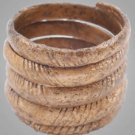Ancient  Viking Mans Coil  Ring C.866-1067A.D. Size 10 1/2  (20mm) Antique Vinta