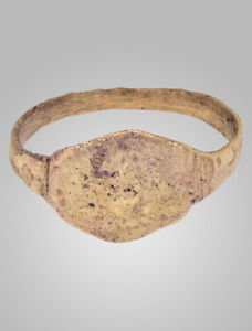 Authentic Ancient Viking Mans Wedding Ring York UK 866-1067 A.D. Size 7 (17.1mm)