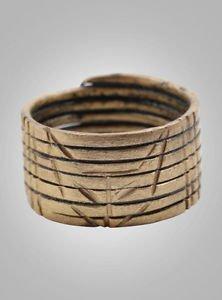 Viking Mans Warriors Ring  C.866-1067 A.D. Size 11   (20.5mm)(Brr922) Vikking Ri