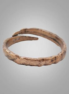 Mans Antique Ancient Wedding band Viking Ring C.866-1067AD. Size 12  (21.7mm)(BR