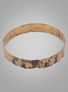 Unique Mans  Wedding Band, Viking Age Jewelry C.866-1067A.D. Size 11  (20.5mm)(B