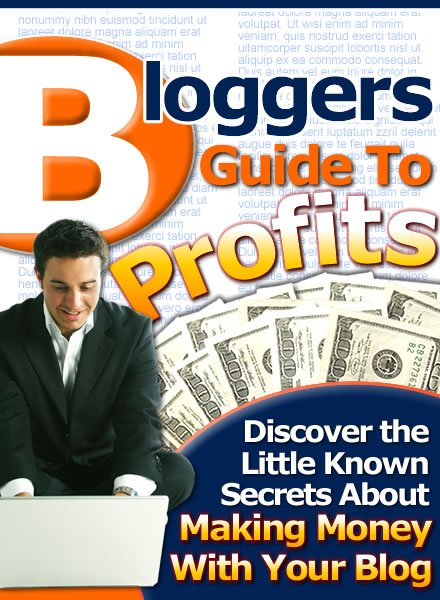 Bloggers Guide to profits.
