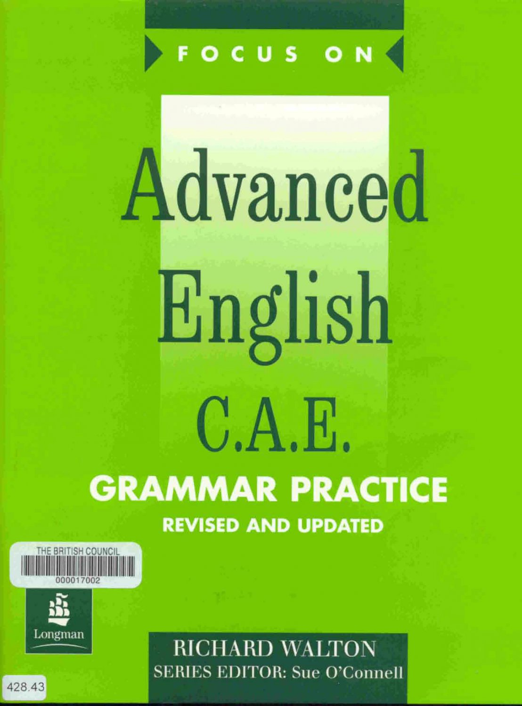 ADVANCE ENGLISH GRAMMAR PRACTICE