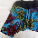 Funky toddler childrens clothing. 3 - 4+ yrs. Adjustable size. BLUE MIX PANTS for boys and girls.