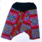 Funky toddler children's clothing. 2 - 4+ yrs. Adjustable size. Reversible PANTS for boys and girls.