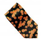 Halloween Laughing Pumpkins Design Black Label Necktie Tie