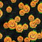 Halloween Laughing Pumpkins Design Black Label Necktie Tie