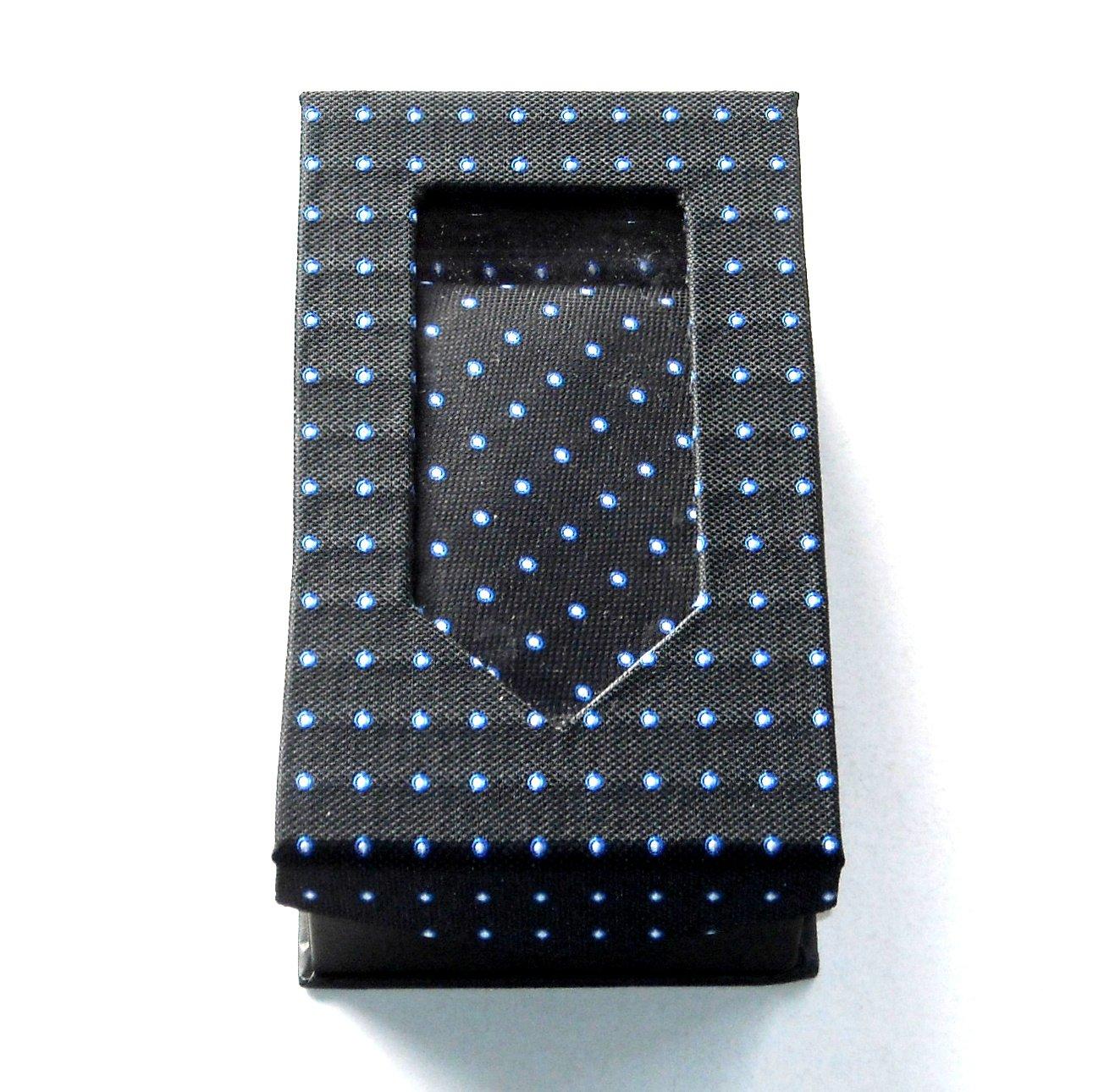 Black Tie Gift Set Boxed Handkerchief Cufflinks