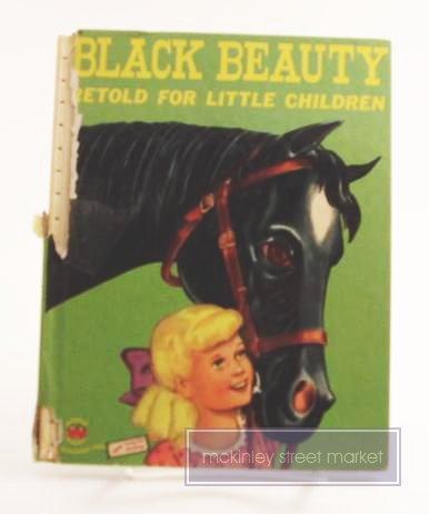 BLACK BEAUTY RETOLD FOR LITTLE CHILDREN WONDER BOOK 1952