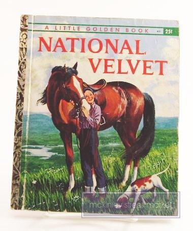 NATIONAL VELVET LITTLE GOLDEN BOOK 1961