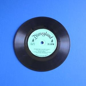 DISNEYLAND RECORD 78 RPM MOUSKETUNES MICKEY MOUSE CLUB