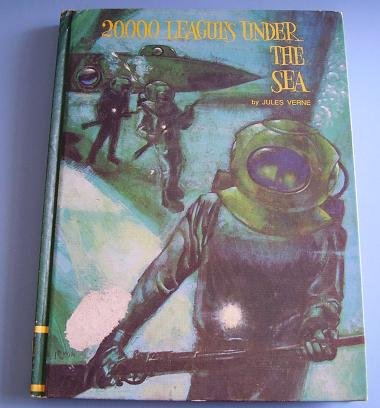 20,000 LEAGUES UNDER THE SEA JULES VERNE HARD COVER 1968