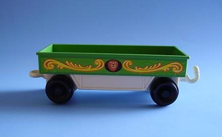 FISHER PRICE FP LITTLE PEOPLE CIRCUS TRAIN FLAT CAR 991 1973
