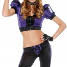 New Forplay Football Jersey Girl Costume Size L/XL