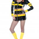 New Forplay Sexy Fire Fighter Igniter Costume Fits Size XS/X