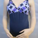 NWT VERY PRETTY & STYLISH 1 PC MATERNITY SWIMSUIT GREAT COLORS SIZE SMALL FREE SHIPPING!