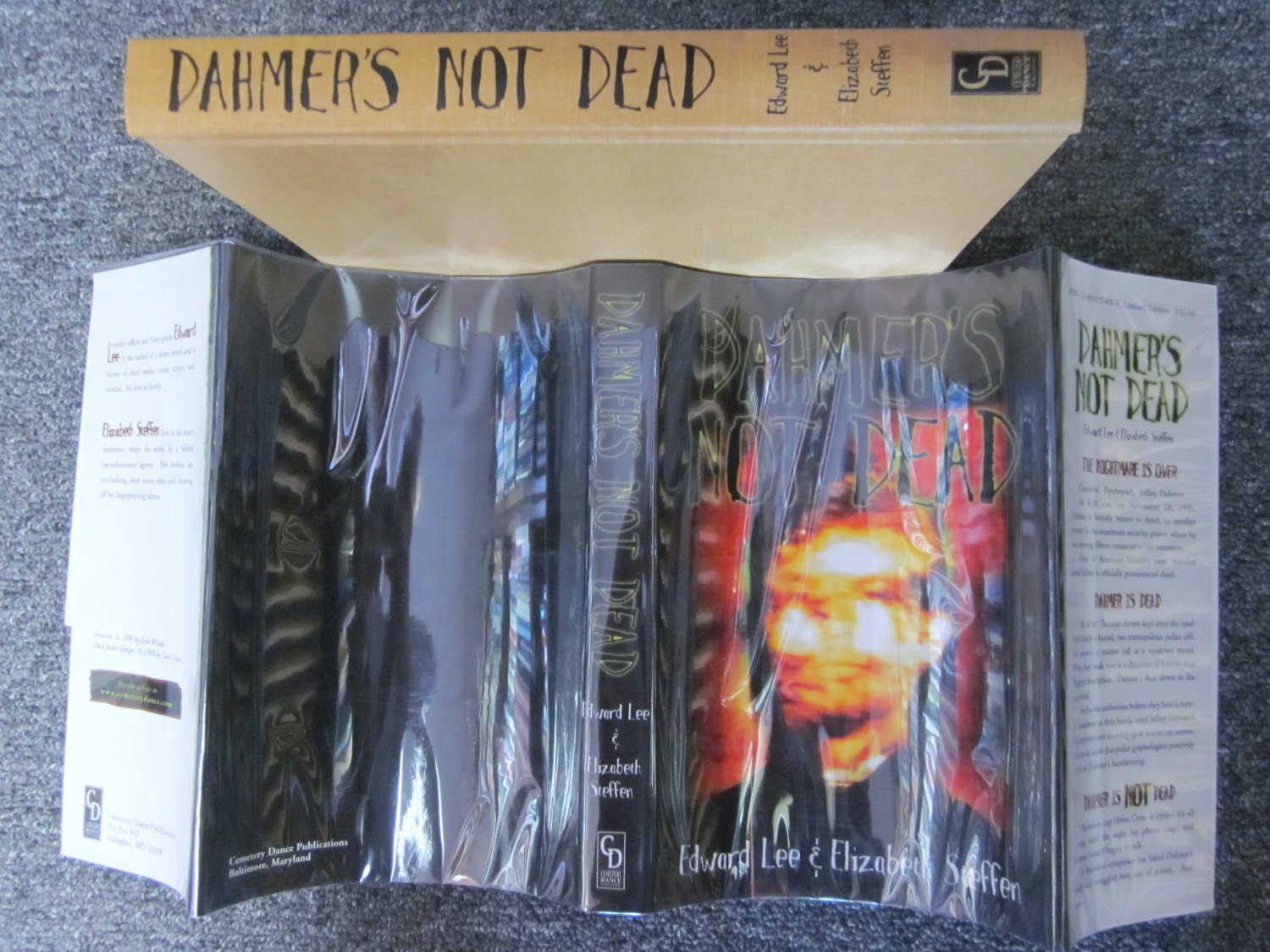 Dahmers Not Dead Signed Limited Edition