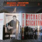 STATE of FEAR Michael Crichton SIGNED FIRST EDITION