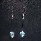 Swarovski Butterfly Crystal Dangle Earrings