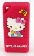 New 4 GB Hello Kitty Flash Drive (Pink)