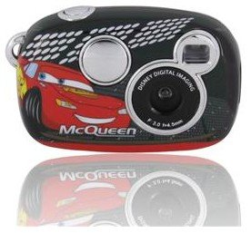 McQueen Kliq Fun LCD Screen 1.3MP Childrens Digital Camera (Black)
