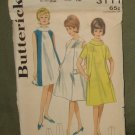 Vintage 1960s Maternity Coordinated Sewing Pattern Butterick Sz 12 Bust 32 #3111