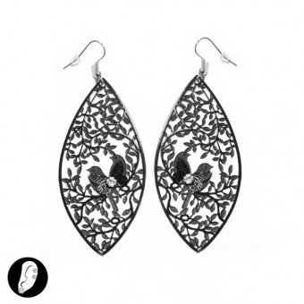 (6 pezzi/pcs.) Orecchini - EARRINGS - MOD. SI313881