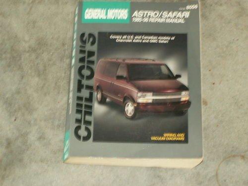1985-1986 GM ASTRO SAFARI Repair Manual FREE SHIP