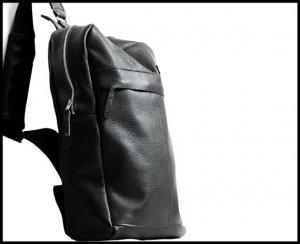 Leather Sling Backpack Bag for him or her