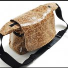 DSLR leather bag - a leather messenger bag for women - Large