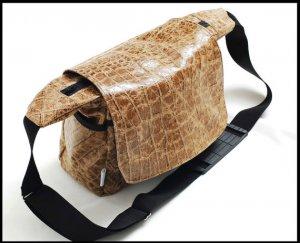 DSLR leather bag - a leather messenger bag for women - Large