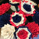 Large Tri Colored Duct Tape Roses